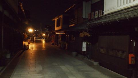 夜の竹原・町並み保存地区