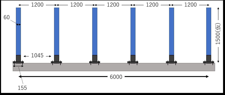フェンス想定図