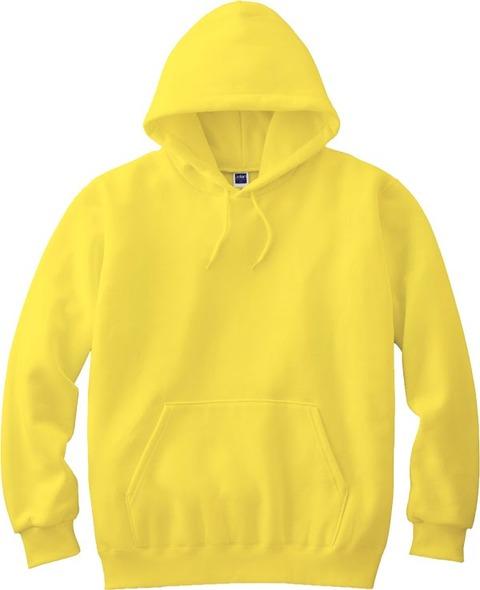 黄色いパーカー