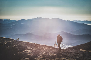 登山をしていた頃、北アルプスのとある場所で道迷いした。