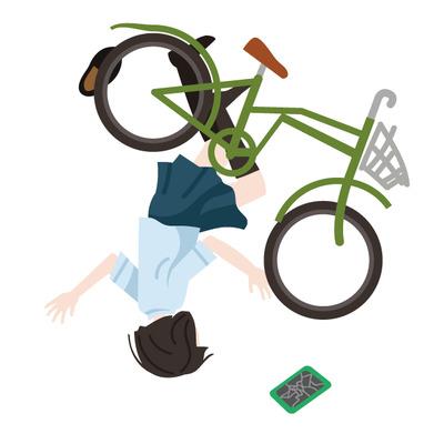 弟の自転車とファミスタ