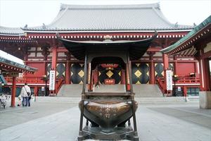 浅草の浅草寺に行った時。