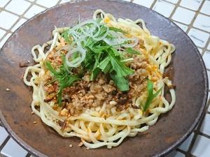 汁なし 鶏生姜坦々麺 DSC_0783