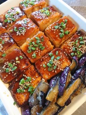 豆腐とナスの蒲焼き DSC_0977