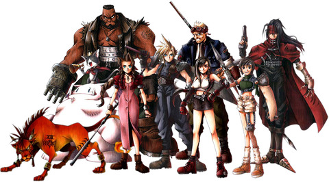 FFVII_Playable_Characters