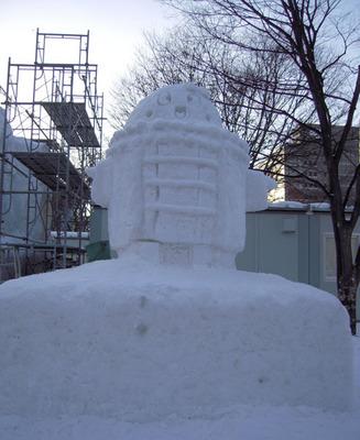 DSCN1318_へしこ雪像