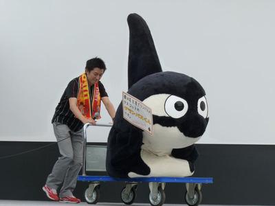 ゆるキャラ紹介_グランパスくん_登場