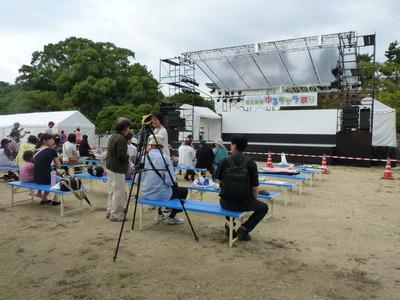 ゆるキャラ祭り_ステージ