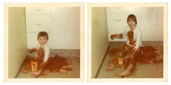 思い出に残る家族写真を現代に甦らせてみたに関連した画像-19