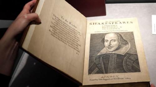 シェークスピア オークション ファースト・フォリオに関連した画像-01