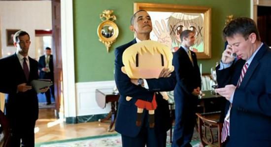 オバマ大統領のクソコラに関連した画像-13