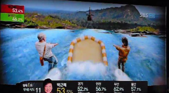 韓国の選挙報道特番に関連した画像-18