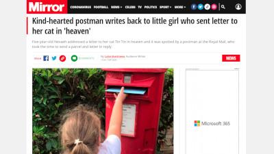イギリス 猫 手紙に関連した画像-02