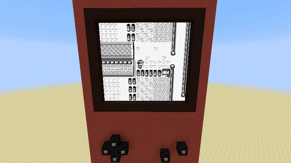 マインクラフト内で『ポケットモンスター 赤』がプレイ可能に関連した画像-01