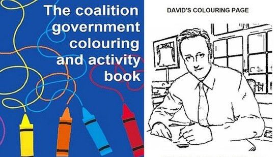 The coalition government colouring and activity bookに関連した画像-01