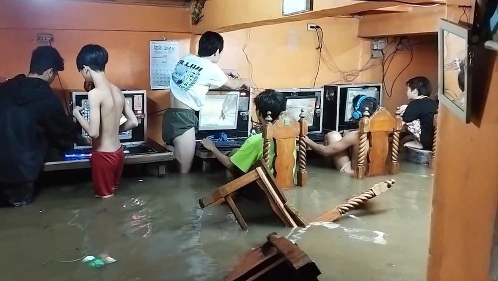 フィリピン ゲーマー 洪水 台風