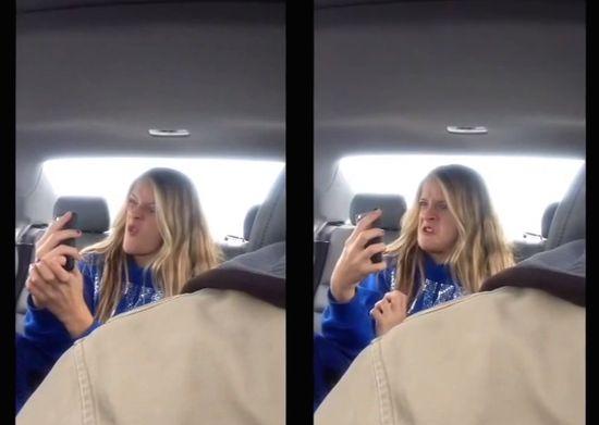 後部座席の娘を隠し撮りに関連した画像-04