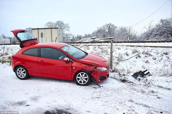 積雪があったロンドンに関連した画像-07