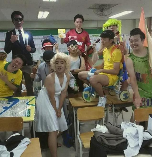 韓国の高校生の卒業アルバムに関連した画像-07