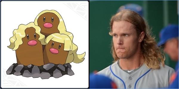 ポケモンと同じ髪型の野球選手に関連した画像-13