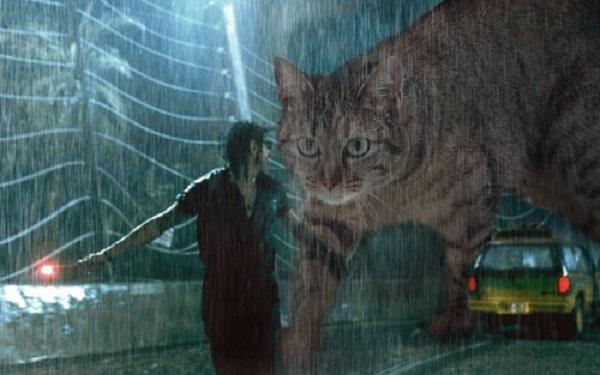 「ジュラシック・ワールド」の恐竜を猫にに関連した画像-07