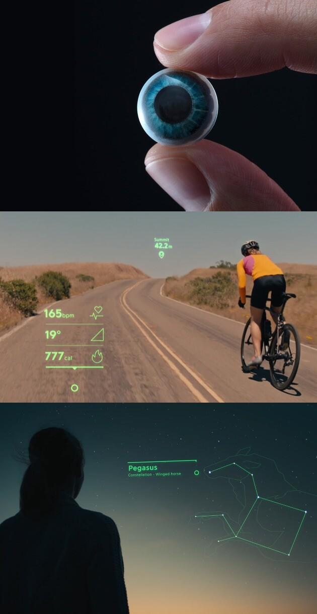 Mojo Vision スマートコンタクトレンズ ARに関連した画像-02