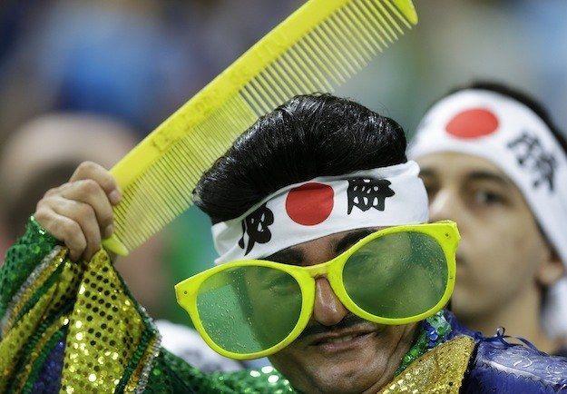 日本人サポーターのコスプレに関連した画像-04