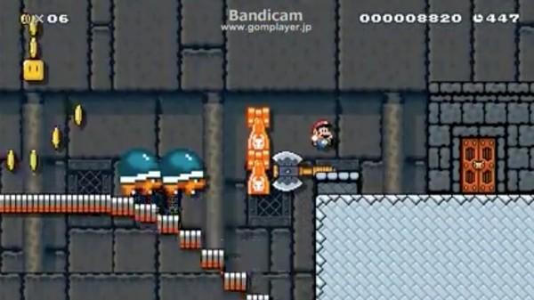 『スーパーマリオメーカー』世界最難関「Pit of Panga: P-Break」をクリアしたニコ生実況主に関連した画像-03