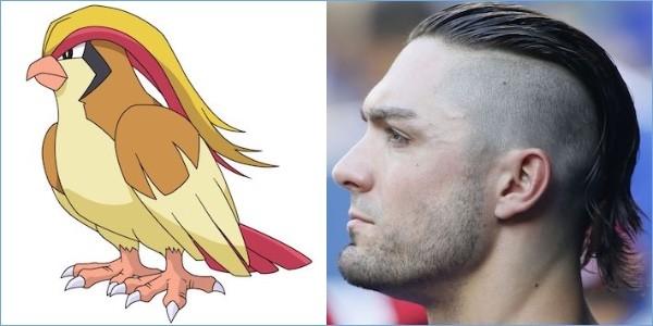 ポケモンと同じ髪型の野球選手に関連した画像-04