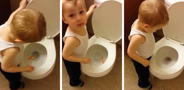 金魚が死んじゃった…トイレに流して弔った男の子に関連した画像-03