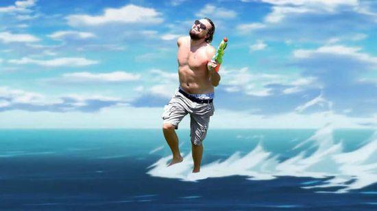 『艦これ』水面コラ画像祭り、外国人に関連した画像-13