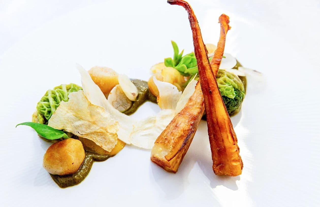 ミシュラン フランス 完全菜食主義 ヴィーガン レストラン ONA
