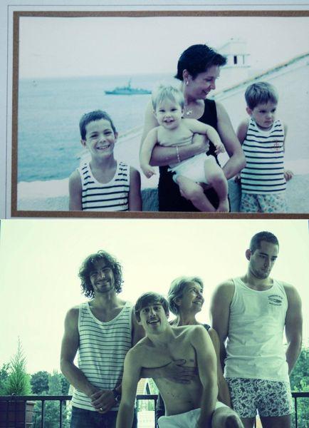 思い出に残る家族写真を現代に甦らせてみたに関連した画像-22