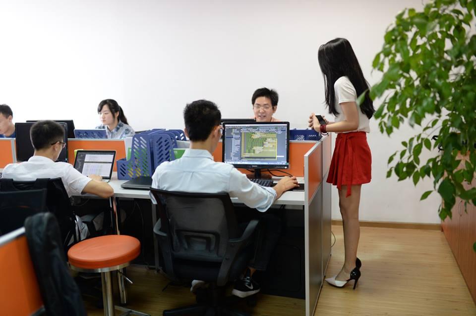 """中国で自分たちを応援してくれる""""美人チアリーダー""""を雇い入れるIT企業が急増に関連した画像-02"""