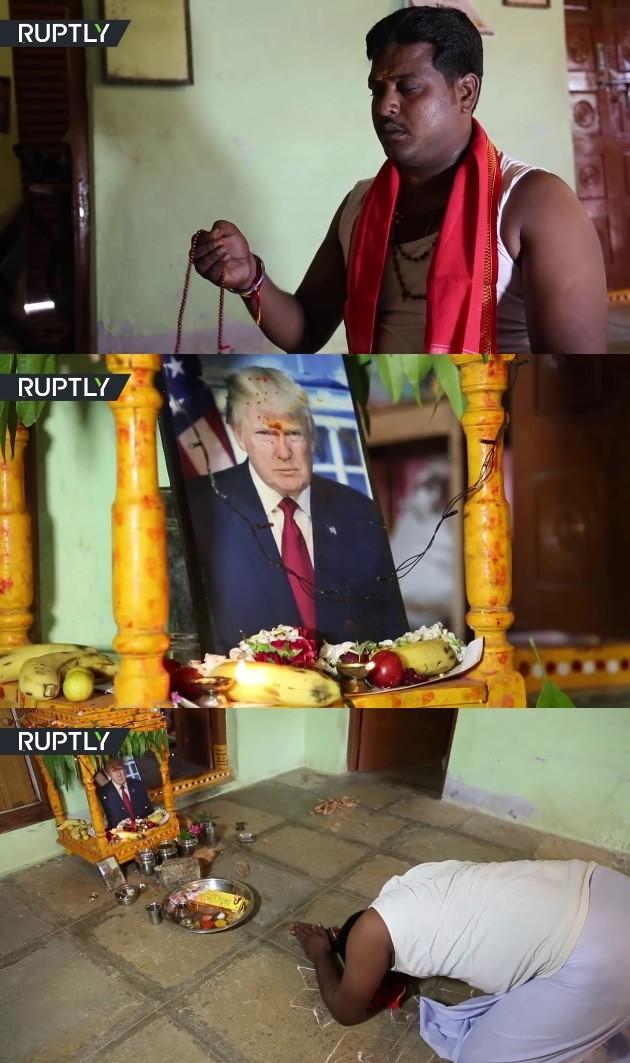 トランプ大統領がインドの村で神にに関連した画像-02