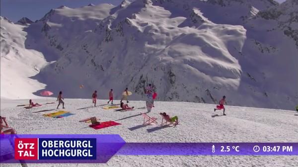 """スキー場のウェブカメラが捉えた""""ハプニング""""映像に関連した画像-07"""