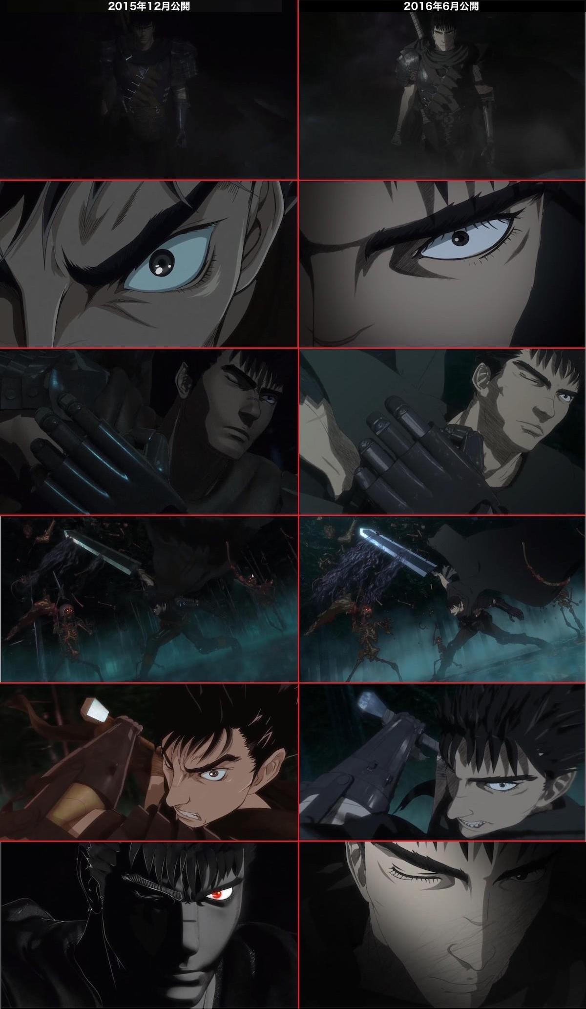 アニメ『ベルセルク』最新映像のCGに関連した画像-02