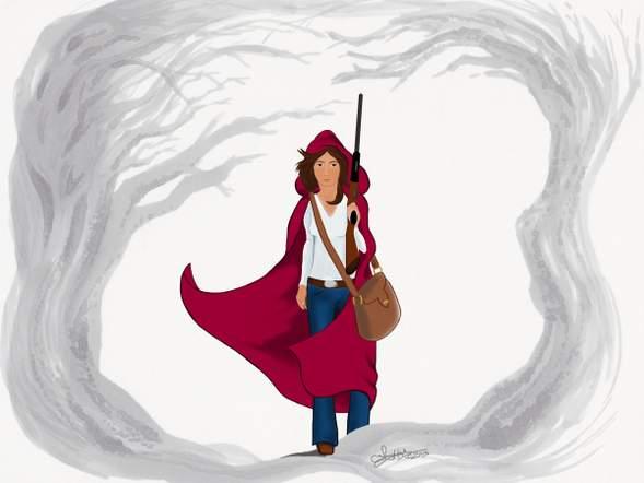 『赤ずきんちゃん 銃を持つ』Little Red Riding Hood (Has a Gun)に関連した画像-02