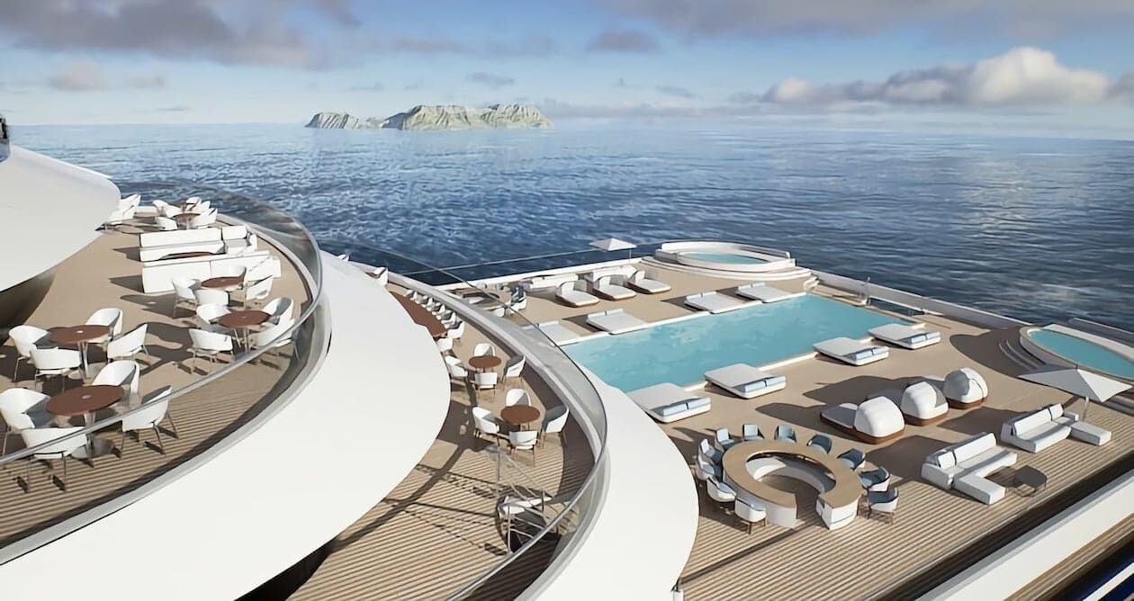 Somnio 世界最大のヨット ソムニオ ノルウェー