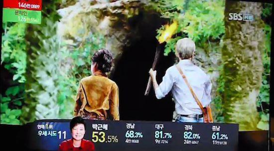 韓国の選挙報道特番に関連した画像-17