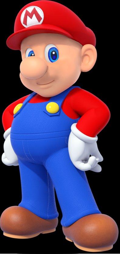 Shaved Mario(丸刈りマリオ)に関連した画像-02