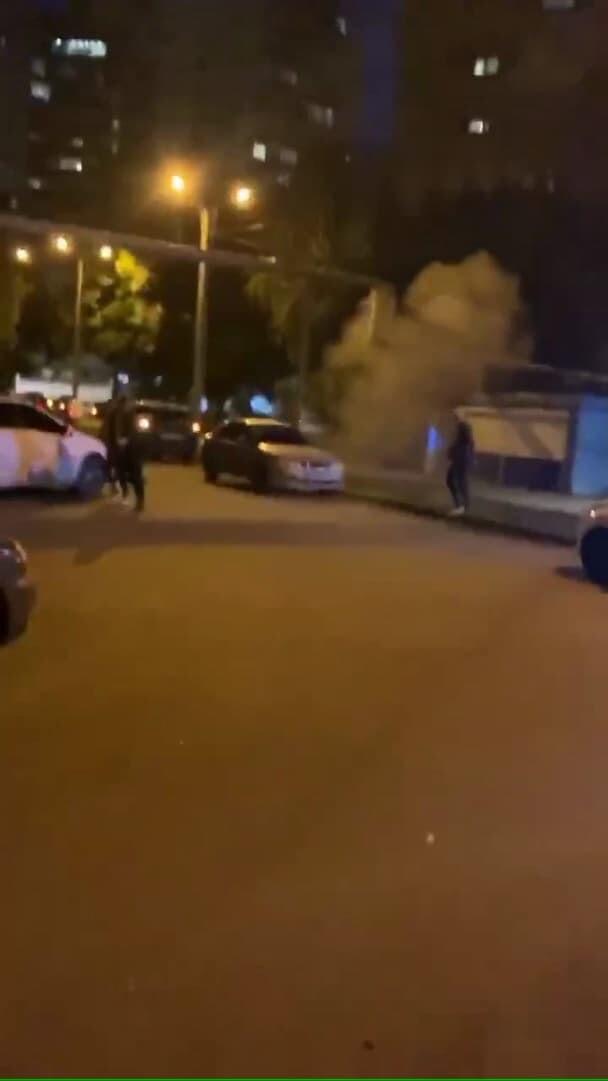 ウクライナ 喧嘩 手榴弾