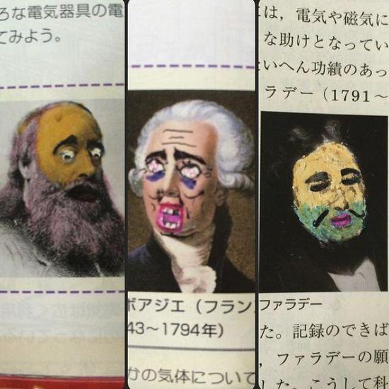 外国人「日本人がまた教科書に落書きしてるぞ」に関連した画像-08