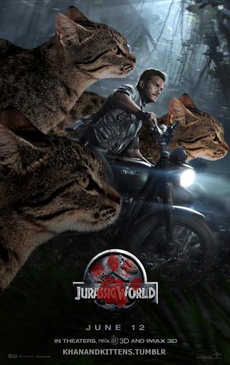 「ジュラシック・ワールド」の恐竜を猫にに関連した画像-19