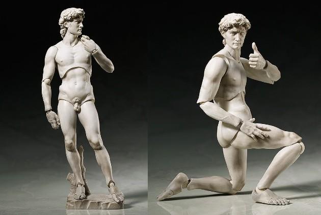 ダヴィンチの 「ウィトルウィウス的人体図」が可動フィギュア化に関連した画像-07