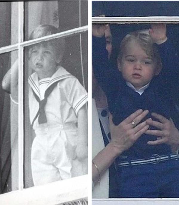 やんちゃなジョージ王子とウィリアム王子に関連した画像-03