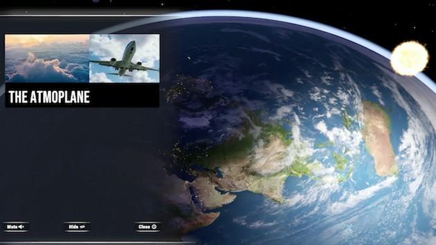 地球平面説 フラットアースシミュレーター Steam