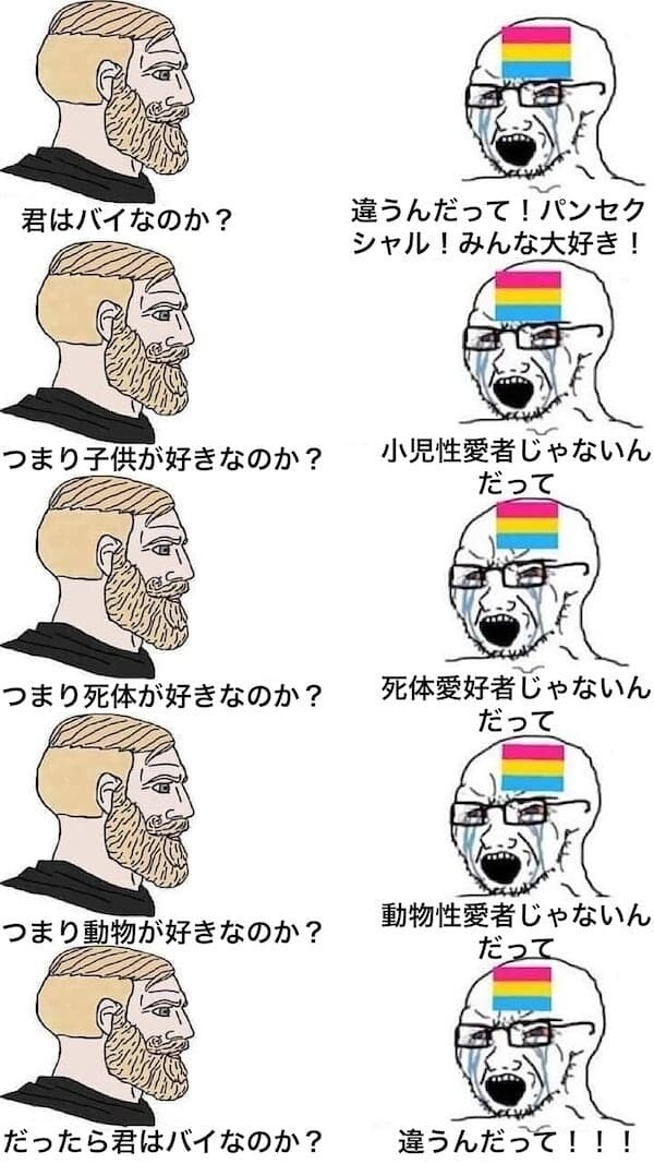シン・エヴァンゲリオン劇場版 LGBTQIA+ 綾波レイ 性的少数派