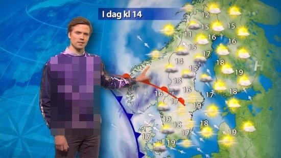 スウェーデンのイケメン天気予報士に関連した画像-01
