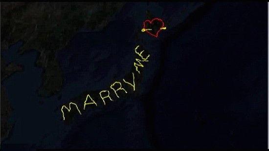 世界最大のプロポーズに関連した画像-01